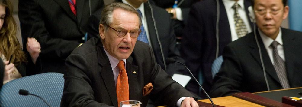 Jan Eliasson Addresses Security Council Meeting on Sudan