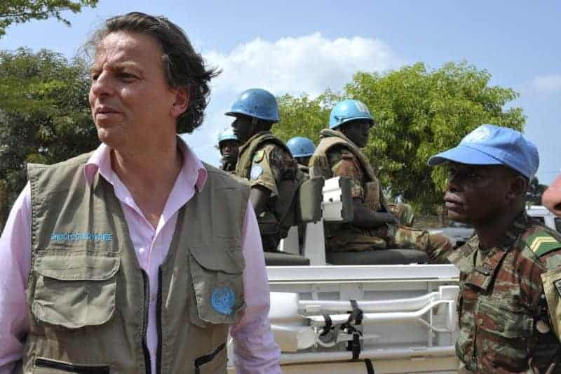 UN envoy for Ivory Coast