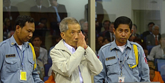 Kaing Guek Eav at the Cambodia Tribunal