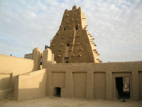 Sankoré Mosque, Timbuktu, Mali