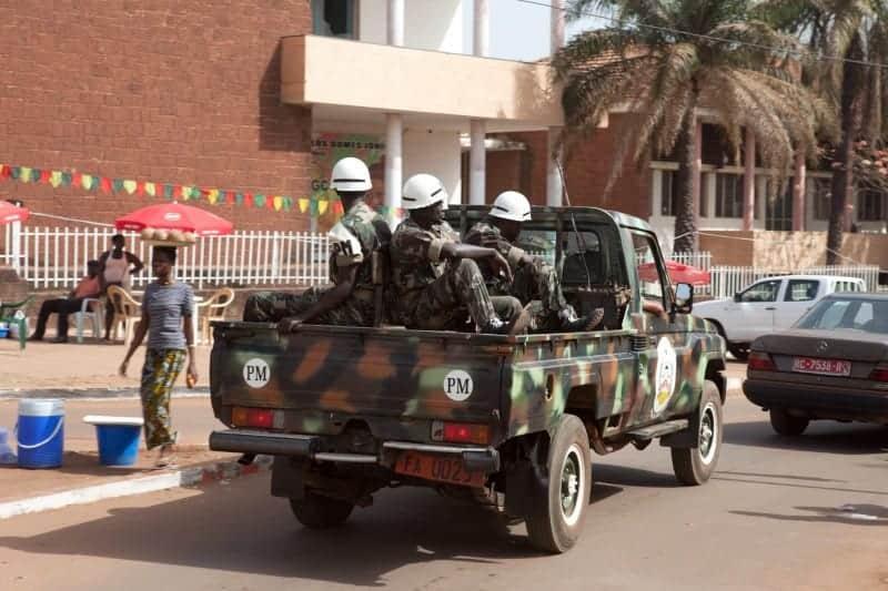 Guinea-Bissau army