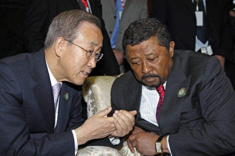 Jean Ping of Gabon