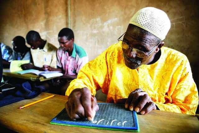 UNDP literacy program