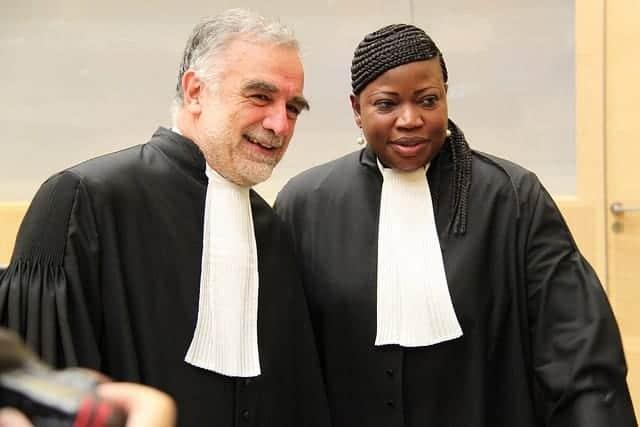 Moreno-Ocampo and Fatou Bensouda