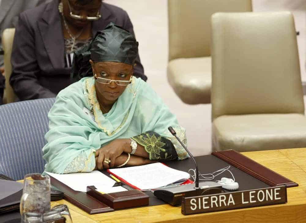Zainab Hawa Bangura of Sierra Leone