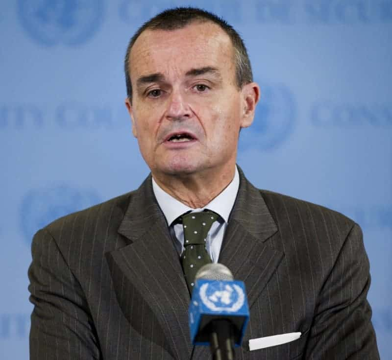 Gerard Araud of the Security Council