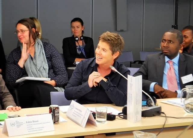 Brigid Inder, special gender adviser for the ICC