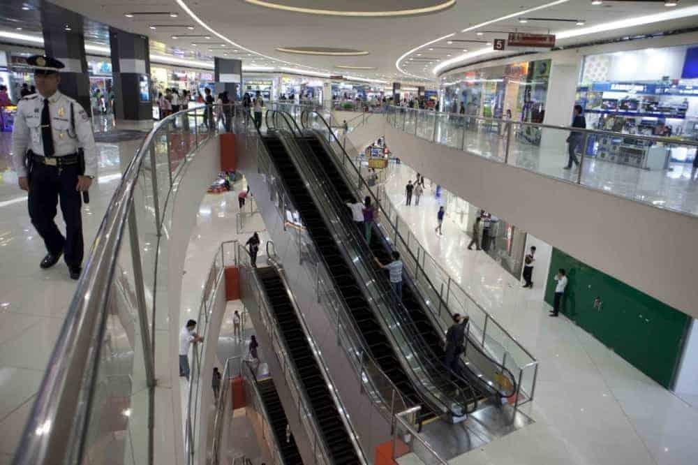 A mall in Manila
