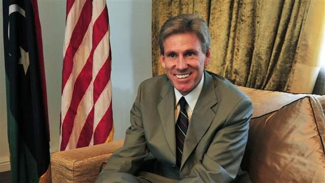Ambassador J. Christopher Stevens of Libya