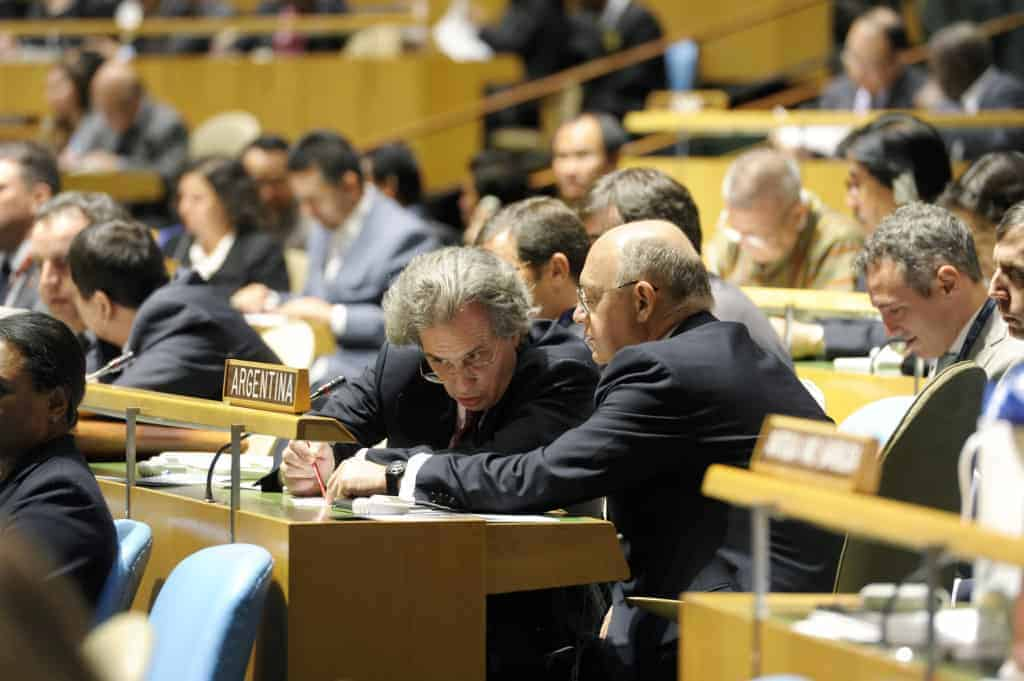 UN General Assembly elects nonpermanent Security Council members