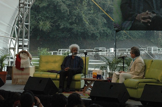 "Wole Soyinka, author of ""Of Africa"""