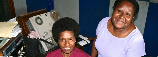 Papua New Guinea women broadcaster and journalist