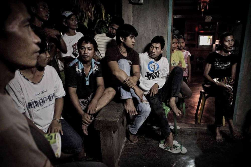 Filipino laborers