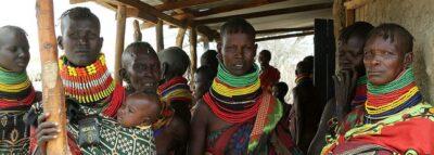 Turkana farmers in Kenya