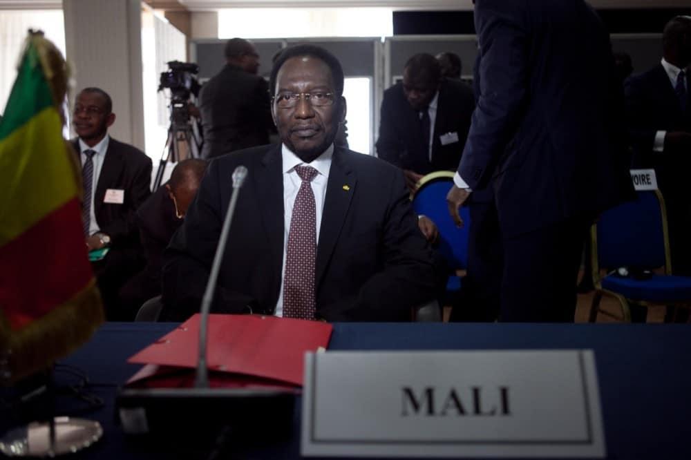 Dioncounda Traore, interim president of Mali