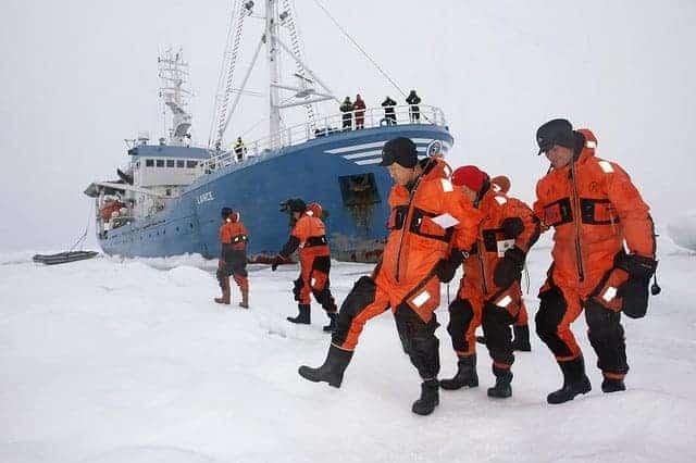 Arctic Circle visit by UN Secretary-General Ban Ki-moon
