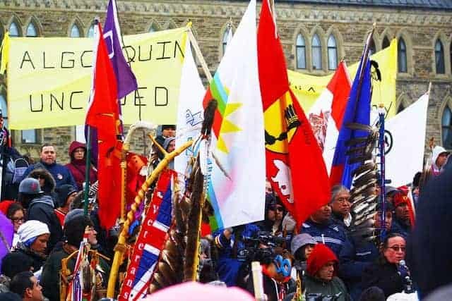 Idle No More in Ottawa