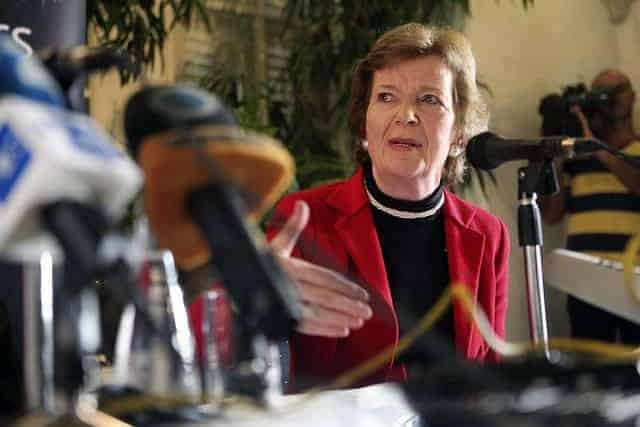 Mary Robinson of The Elders