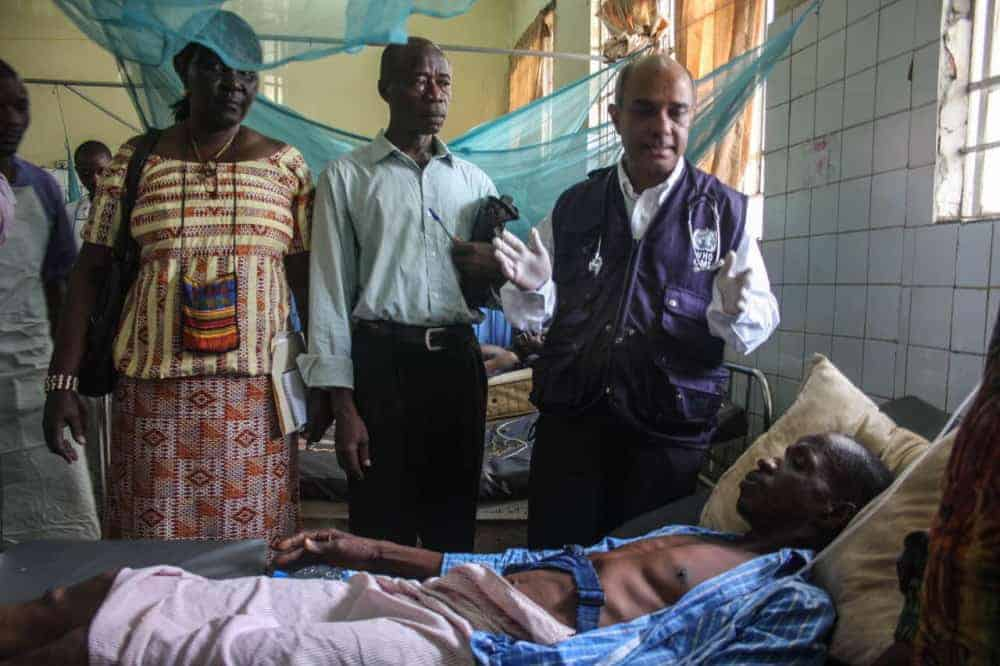 WHO cholera outbreak in Sierra Leone