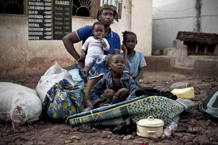 Displaced Malians