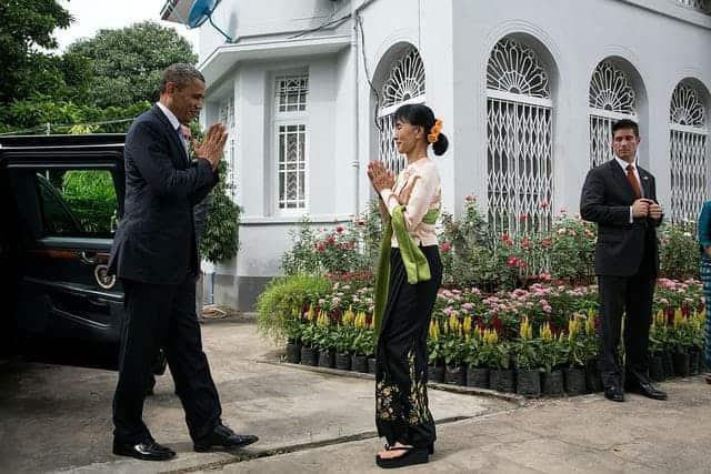 Obama in Burma
