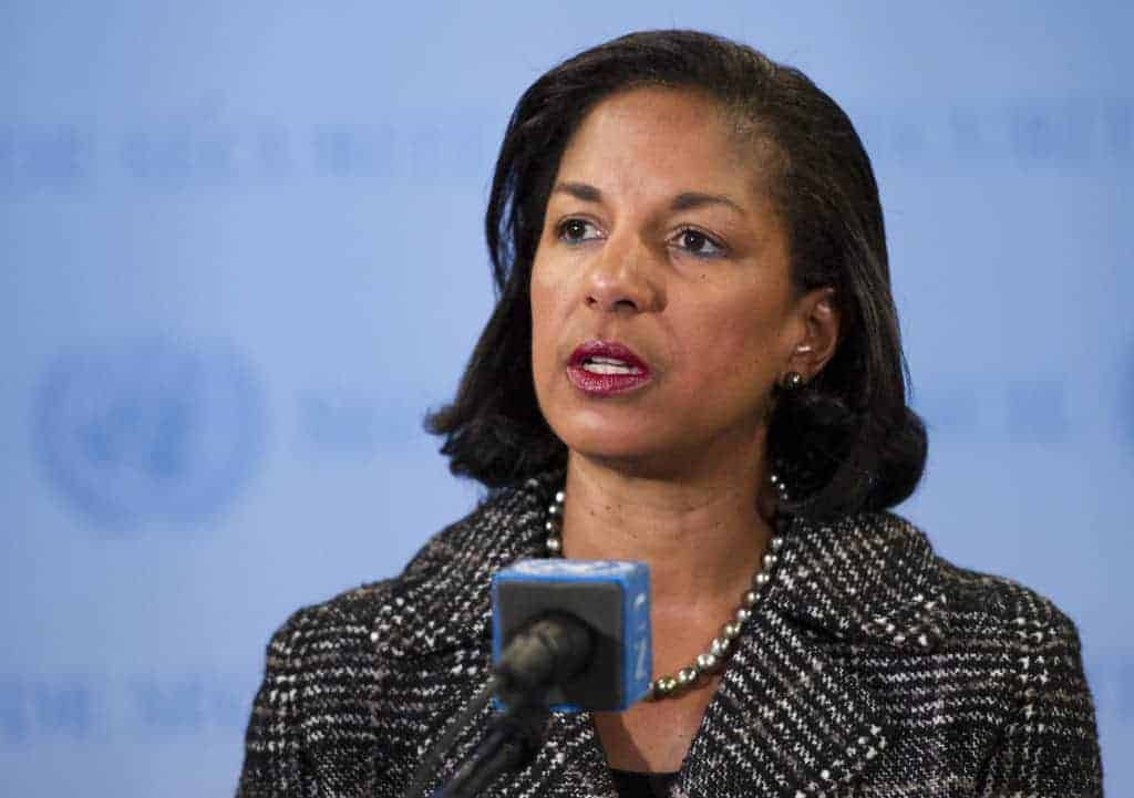 Susan Rice, US ambassador to the UN