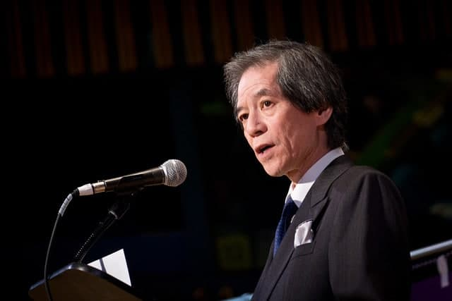 Tsuneo Nishida, Japanese ambassador to the UN
