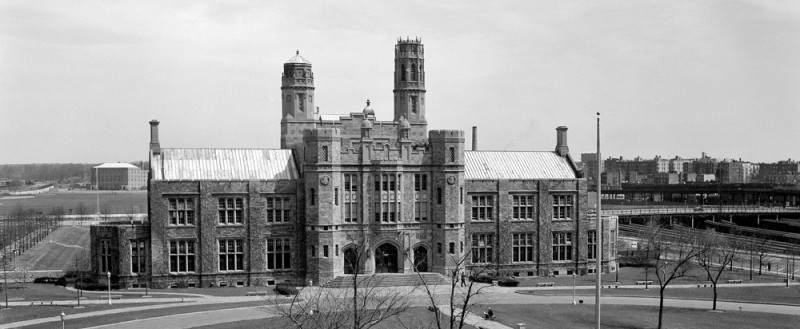 UN headquarters at Hunter College in the Bronx, 1946