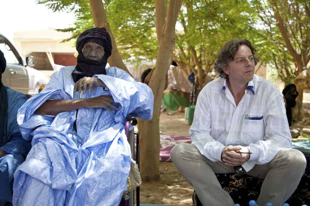 Bert Koenders of the UN in Kidal, Mali