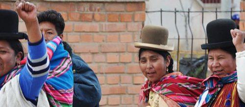 Bolivian Women in Oruro