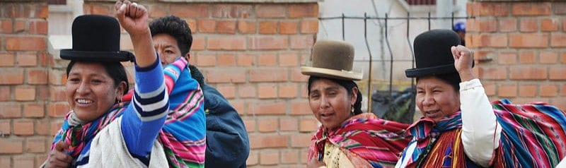 Bolivian Women in Oruro