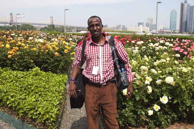 A Kenyan in the UN rose garden