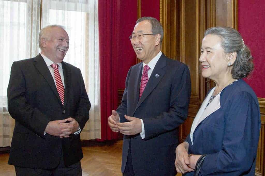 UN SG meets with Mayor of Vienna
