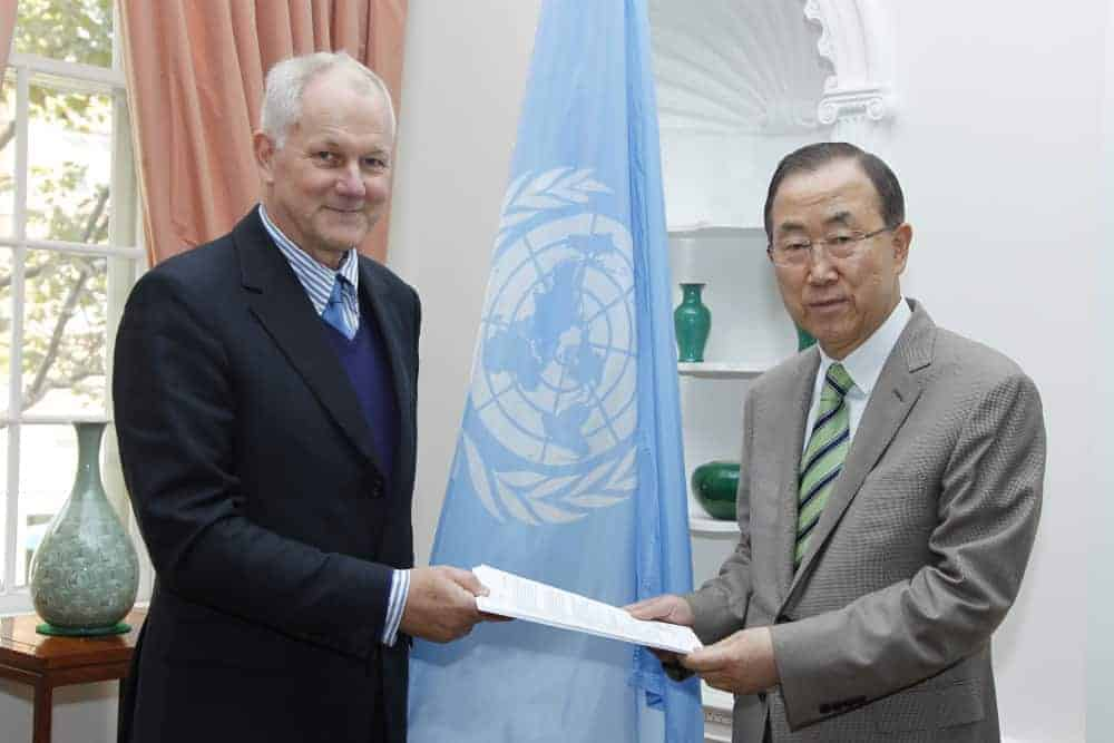 Secretary General receives report on chemical weapons use in Syria