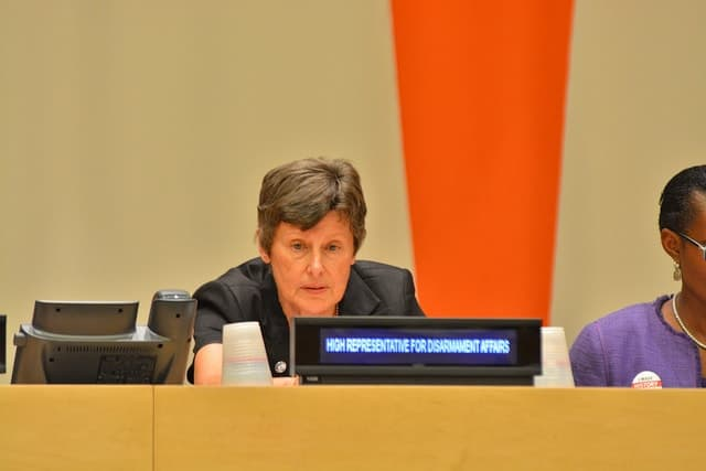 Angela Kane, UN high representative for disarmament affairs