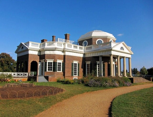 Monticello, a Unesco World Heritage Site