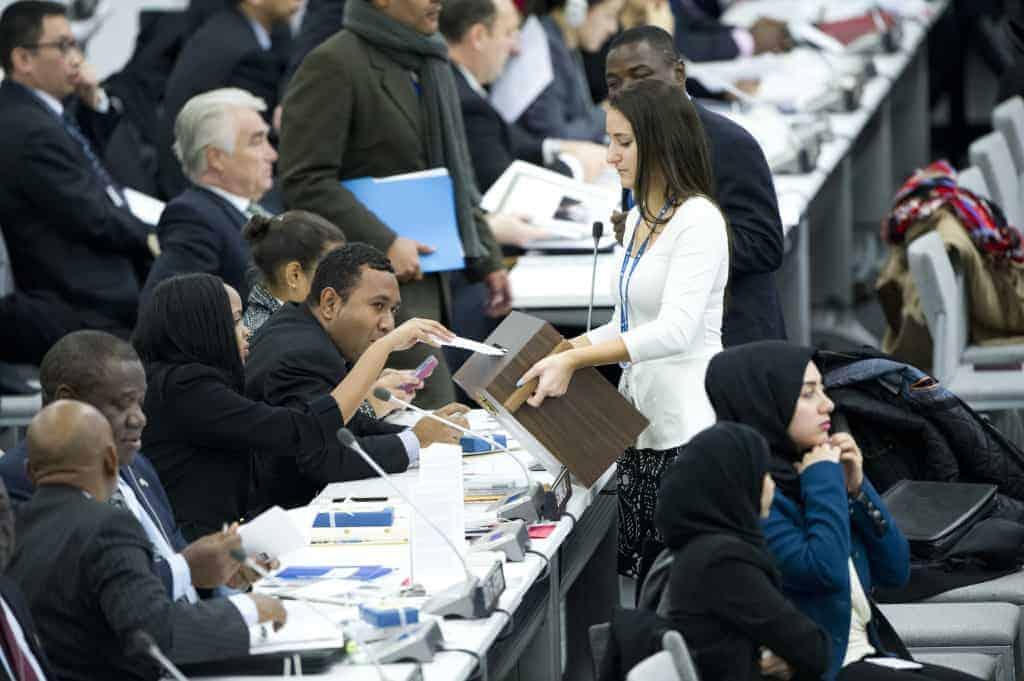 Human Rights Council vote 2013