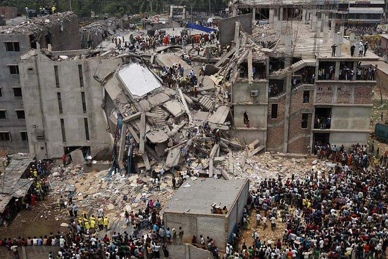 Rana Plaza in Dhaka