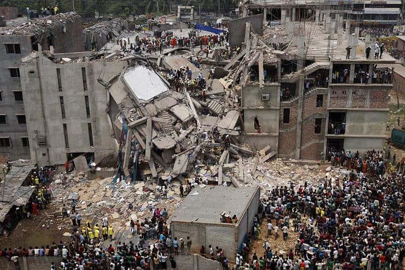 Rana Plaza in Dhaka