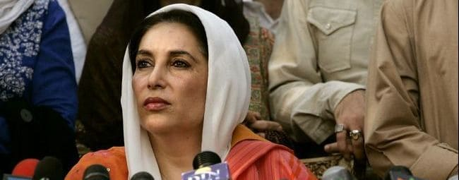 Benazir Bhutto, the Pakistani prime minister who was killed by a teenage suicide bomber in 2008.