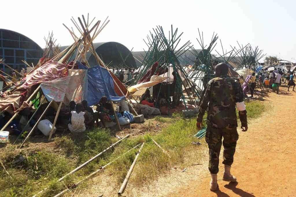 IDP camp in South Sudan