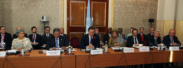 UN high-level panel devising the post-2015 development agenda