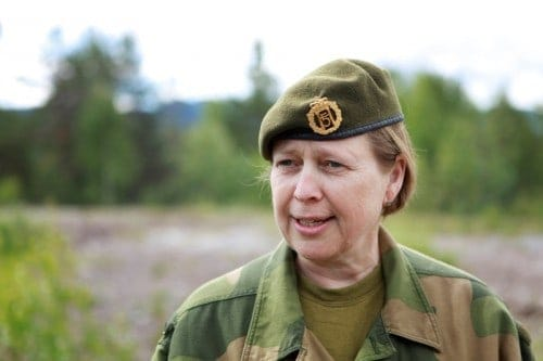 General Kristin Lund of Norway