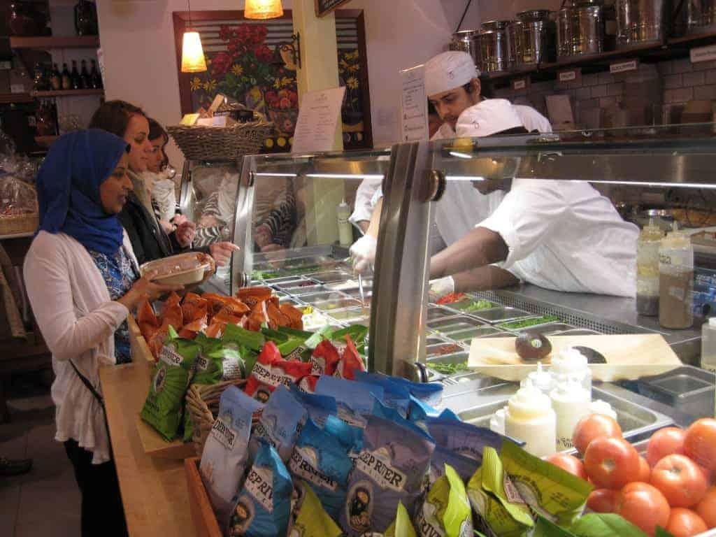 Blue Olive salad bar