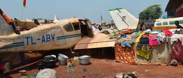 M'Poko camp in Central African Republic