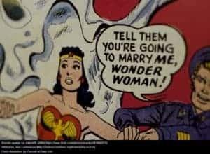 Poor Wonder Woman! CREATIVE COMMONS