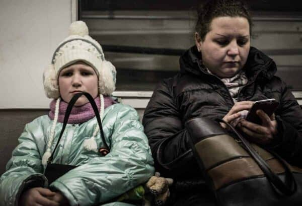 tktkt Muscovites on the train. Moscow, above, ROY THANIAGO/CREATIVE COMMONS