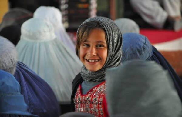 Afghan school girl Mette Bastholm/HELMAND PRT/CREATIVE COMMONS