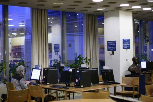 Dag Hammarskjold Library J.C. McILWAINE/UN PHOTO