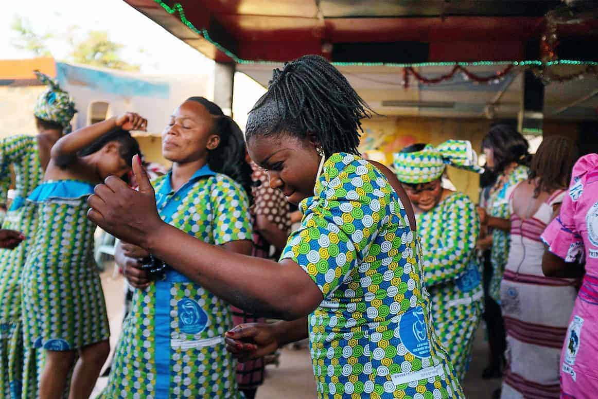 Celebrating International Women's Day in Ouagadougou, Burkina Faso, 2015